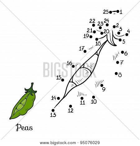 Numbers Game: Fruits And Vegetables (peas)
