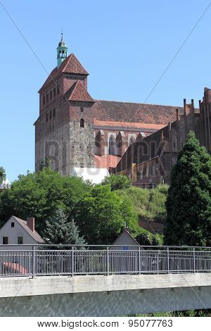 The Romanesque Cathedral In Havelberg