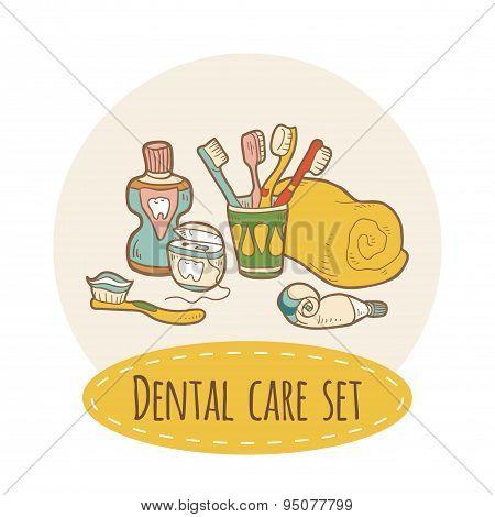 Dental care set
