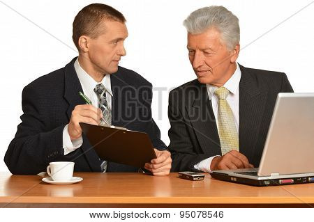 Successful Businesspeople at work