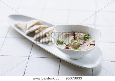 Hummus Houmous Vegetarian Dip Snack Food