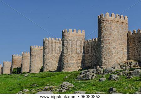 Avila Stone Wall