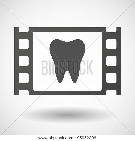 35Mm Film Frame With A Tooth