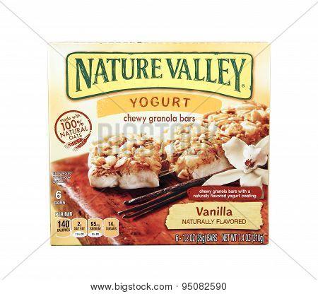 Box Of Nature Valley Yogurt Bars