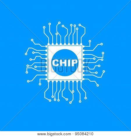 Vector Chip Icon