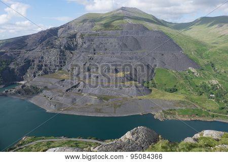 Dinorwic Slate Quarry.