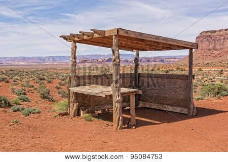 Abandoned Navajo Jewelry Stand