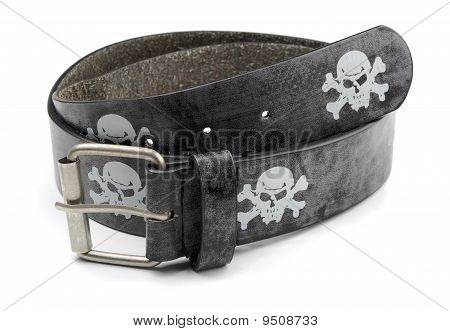 Pirate Leather Belt