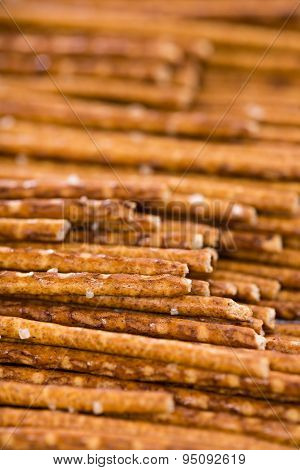 Salt Sticks (food Background)