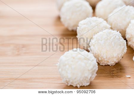 Portion Of Coconut Pralines