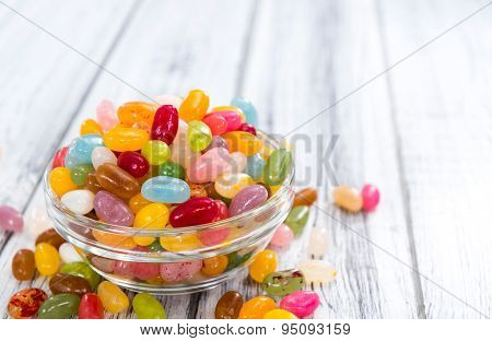 Portion Of Jelly Beans