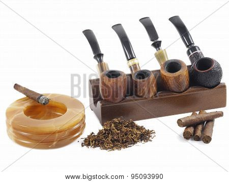 Pipe and cigars passion
