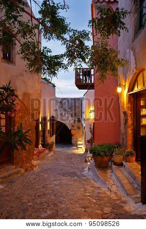 Monemvasia in Greece.