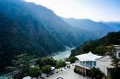 picture of gang  - Home in the Himalya mountains on the edge of the ganges river - JPG