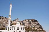 picture of gibraltar  - Mosque of Europa Point in Gibraltar  - JPG
