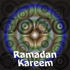 picture of ramadan calligraphy  - Calligraphy of Arabic text of Ramadan Kareem for the celebration of Muslim community festival - JPG