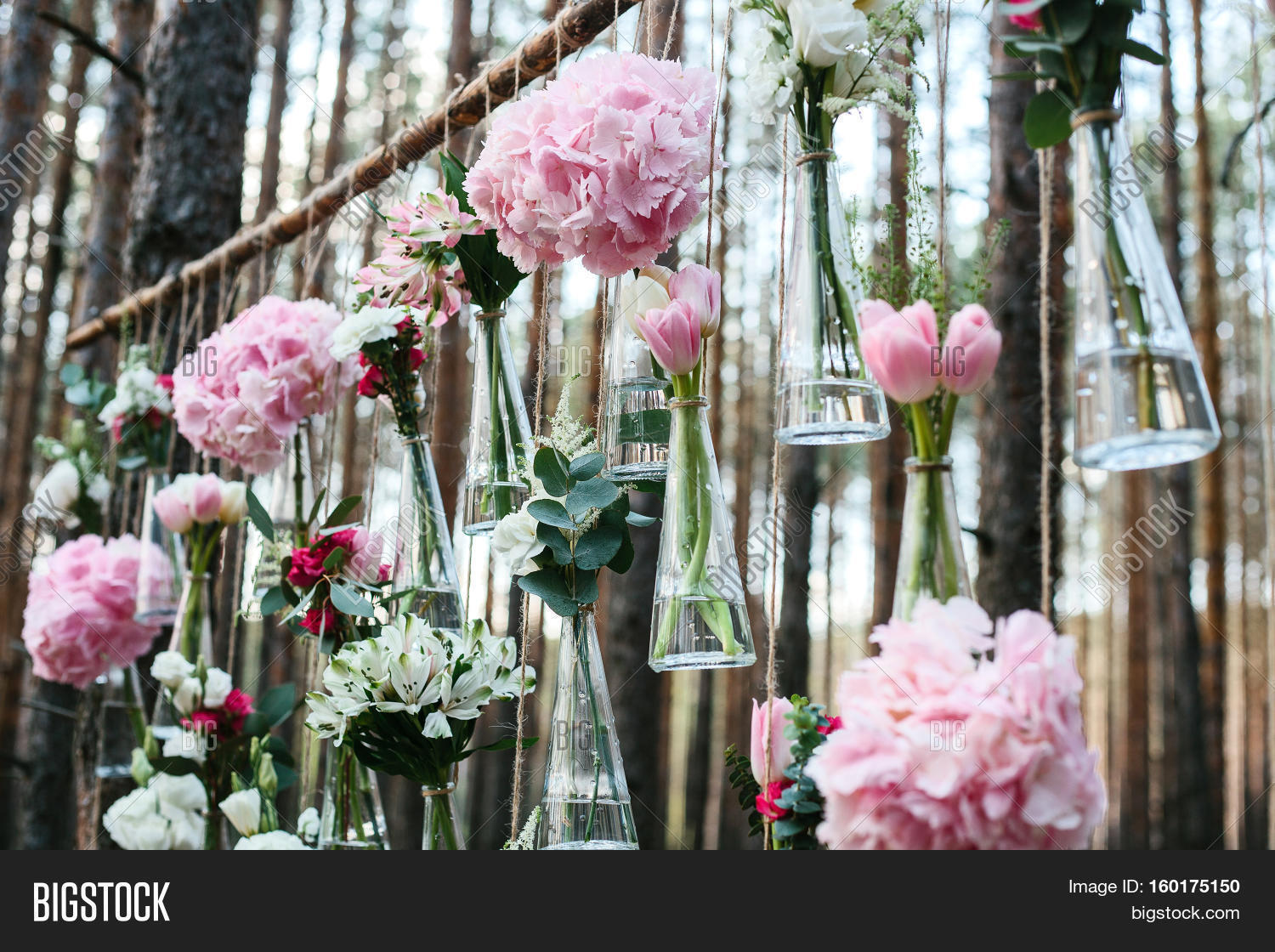 Wedding Flowers Decoration Arch In The Forest The Idea Of A Wedding Flower Decoration Wedding