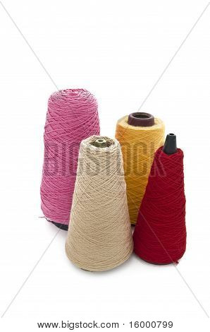 4 Cones Of Wool
