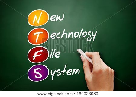 Hand Drawn Ntfs New Technology File System