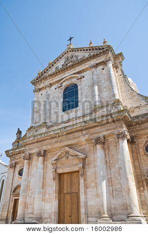 St. Giorgio Martyr Church. Locorotondo. Apulia.