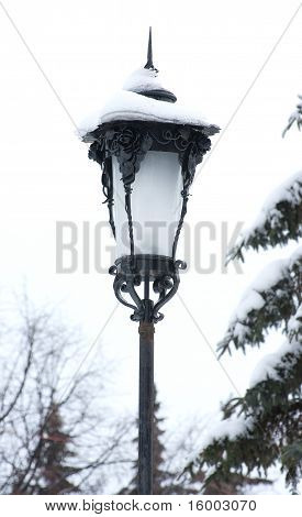 The Old Forged Street Lantern