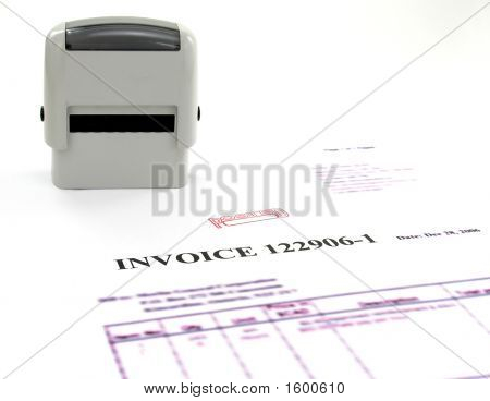 Invoice Posted.