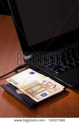 Money Notebook Euro Balance Finance