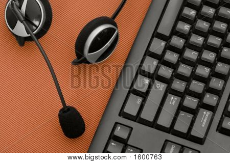 Headset And Keyboard