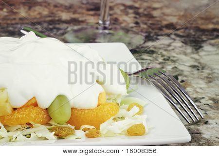 Fruit & Edam Salad