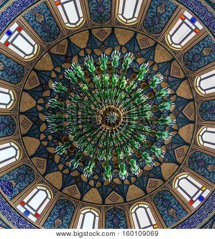 Dome of Shrine of Hilal ibn Ali in Aran va Bidgol city Iran