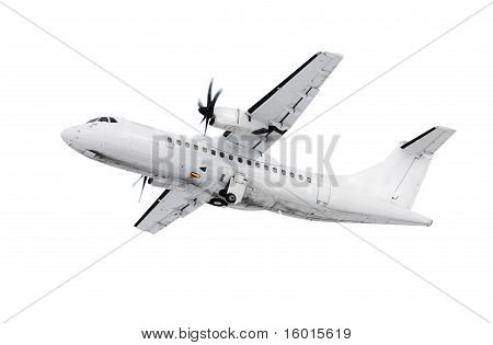 White Airplane
