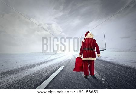 Santa is on the way ...