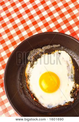 Fried Eggs From One Eggs