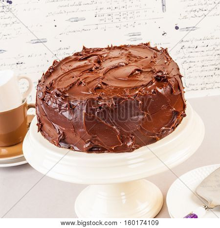 Devil's food cake is a dense rich chocolate cake very popular throughout the US