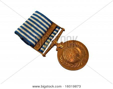 Un Peacekeeping Medal Korea