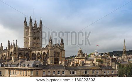 Bath Abbey In Bath