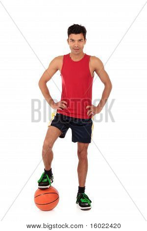 Nepalese Man Basketball Player, Victory