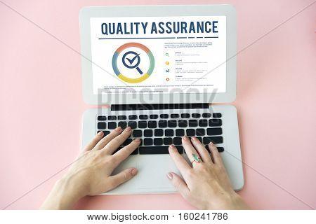 Quality Assurance Warranty Guarantee Standard Concept
