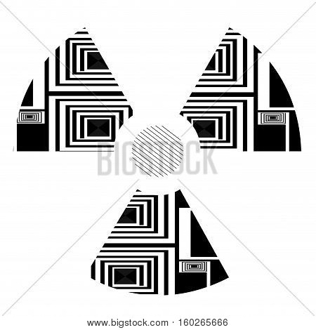 Isolated Abstract Symbol