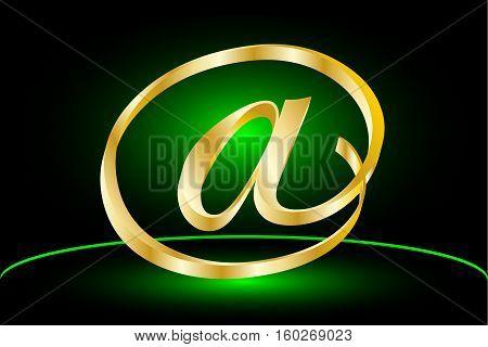 E-mail icon , Vector e-mail internet icon button