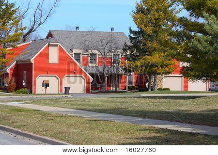 A Red Duplex
