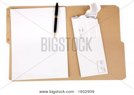 File Folder And Mail