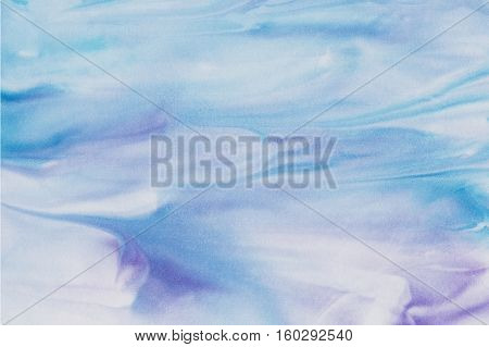 Abstract blue and purple watercolor background. Cold colors