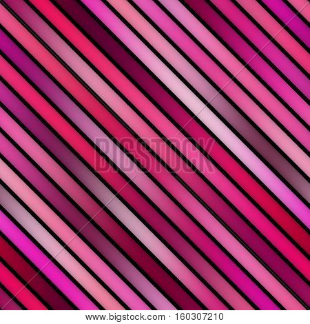 Parallel Gradient pink Stripes. Abstract Geometric Background Design. Seamless Multicolor Pattern.