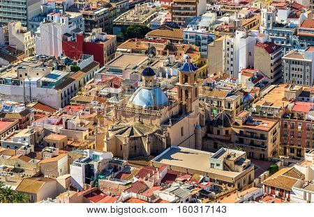 Co-cathedral of Saint Nicholas of Bari in Alicante - Spain