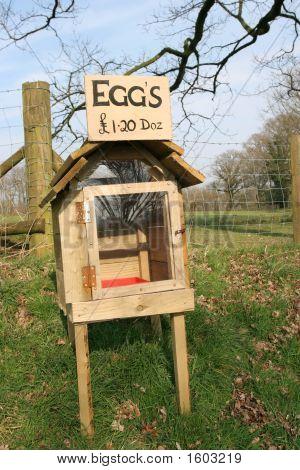 Honesty Egg Box
