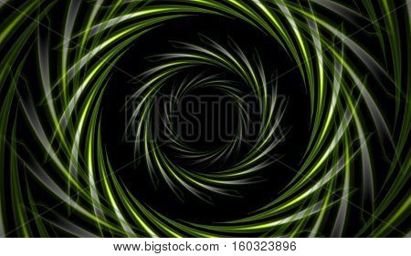 Abstract bright green tech background