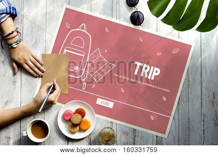 Vacation Trip Adventure Holiday Concept