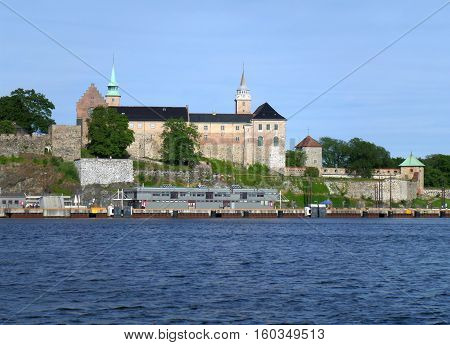 Akershus Fortress, Stunning Medieval Monument on the Shore of Oslo Harbor, Norway