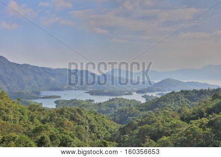 Tai Lam Chung Reservoir At 2016
